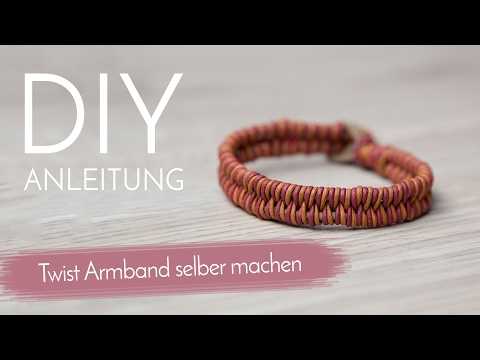 Fischgrätenarmband - DIY Anleitung