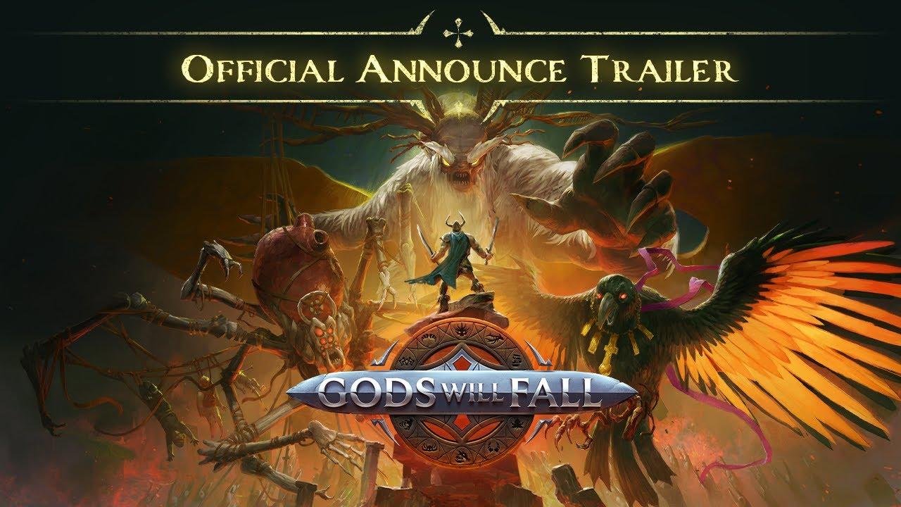 Геймплейный трейлер игры Gods Will Fal