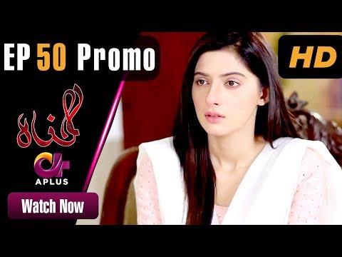 Pakistani Drama   Gunnah - Episode 50 Promo   Aplus Dramas   Sara Elahi, Shamoon Abbasi, Asad Malik