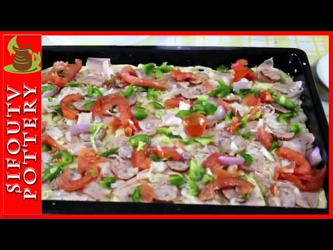 Πως να φτιάξεις σπιτική πίτσα (traditional pizza), χωρίς μαγιά