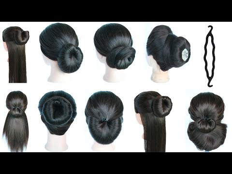 9 Very Quick And Easy Hairstyles With Help Of Magic Hair Lock || Hair Style Girl || Simple Hairstyle Mp3