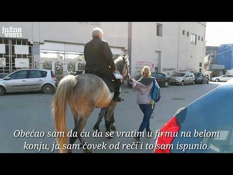 Miodrag Stanković Uča se vratio na posao na belom konju