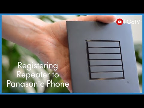 How To Register a Repeater to a Panasonic Phone