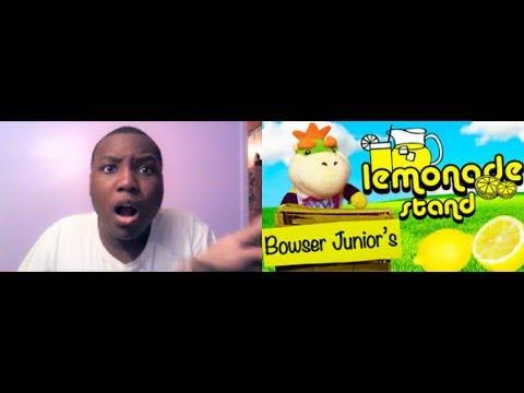SML Movie: Bowser Junior's Lemonade Stand! REACTION