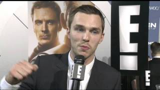 Nicholas Hoult gets attacked by James McAvoy!