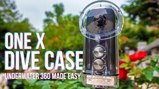Insta360 One X Underwater Dive Case Review VS 360bubble GoPro Fusion