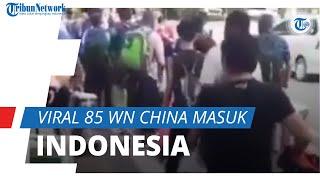 Viral Video 85 WN China Masuk Indonesia lewat Bandara Soetta saat Pelarangan Mudik Lebaran Nasional