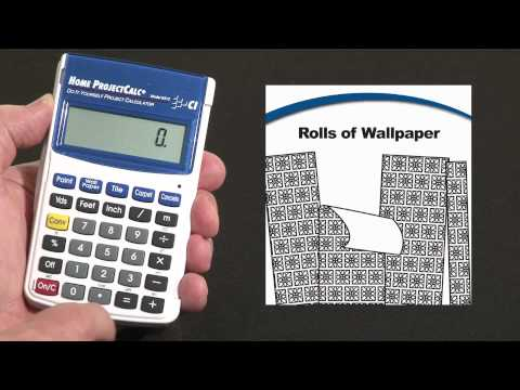 Home ProjectCalc - Rolls of Wallpaper
