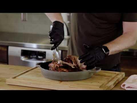 Pulled Pork & Hot Vinegar Sauce with Timothy Hollingsworth Step 8