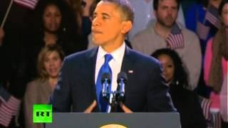 Победная речь Барака Обамы