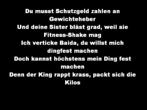 Englisch Rap Text