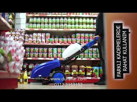 Clean BSC42 Akülü dar alan temizleme makinası
