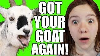 OMG I'VE GOT YOUR GOAT AGAIN! Official Video Sequel!