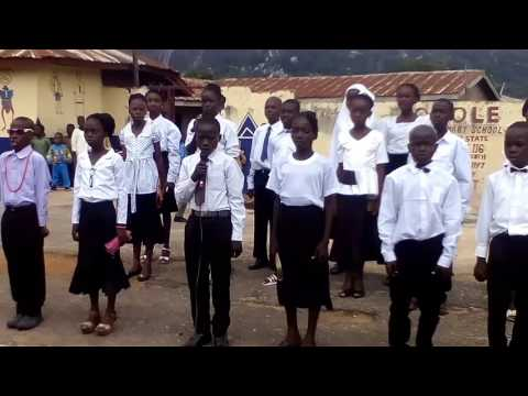 Oyo State Anthem by OLOLE NURSERY AND PRIMARY SCHOOL IGBETI Pupils