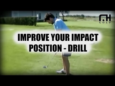 Golf Lesson with David Leadbetter master Instructor Sean Hogan – Impact Drill