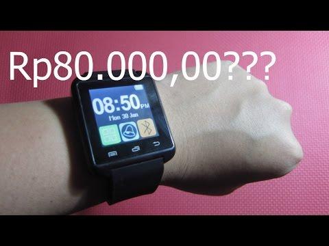 Smartwatch  Cuma 80Ribuan??!! U8 Unboxing Indonesia