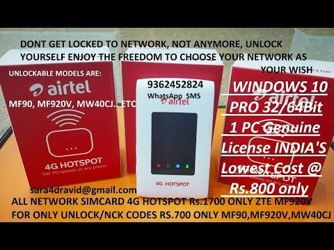 Unlock / Crack ZTE MF920v WiFi Router - смотреть онлайн на Hah Life