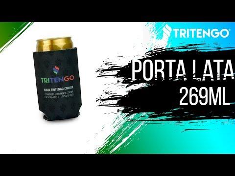 Porta Lata 269ml em Neoprene Personalizado para Brinde Corporativo