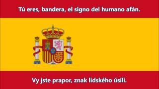Španělská hymna - Anthem of Spain (ES/CZ text)