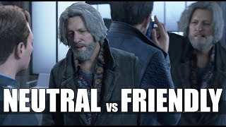"""Detroit Become Human - """"What Happens If"""" Hank is Neutral With Connor During """"Last Chance, Connor"""""""