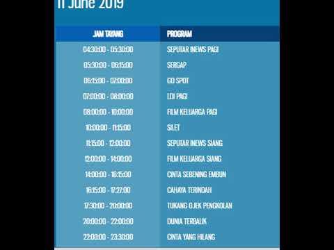 Jadwal rcti hari ini selasa   juni 2019