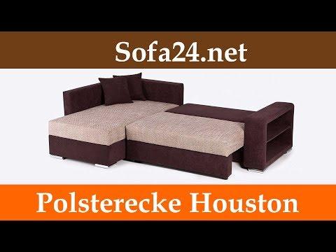 Polsterecke Houston mit Schlaffunktion