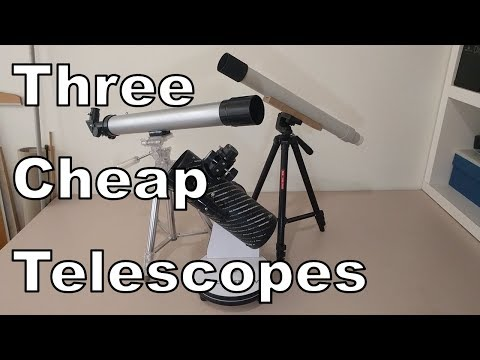 3 Cheap Telescopes Reviewed