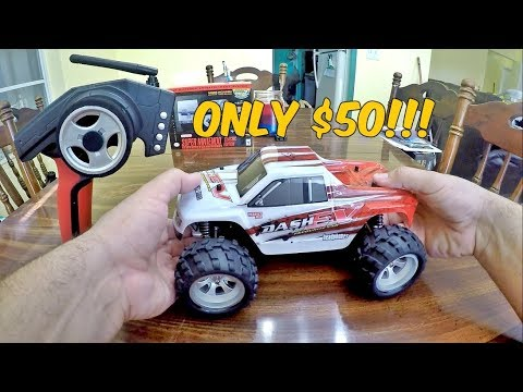 This Is MADNESS!! 43 MPH!? WLTOYS A979 1/18 RC Monster Truck