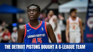 The Detroit Pistons Will Have Their G-League Team In Detroit Now #DetroitBasketball
