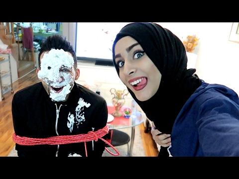 SHE SMASHED CAKE ON MY FACE (PRANK)