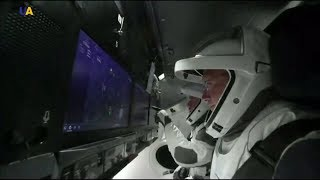Космический корабль Crew Dragon отправился в первый полет