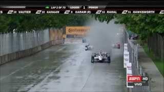 IndyCar 2015 - Ronda 7 De 16 - Chevrolet Dual En Detroit Carrera 1