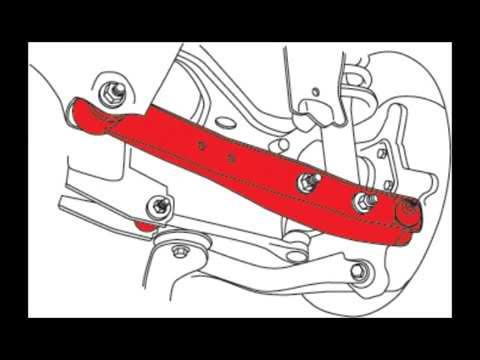 SPC 67660 Adjustable Rear Lower Control Arm Installation