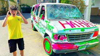 Destroying My Brothers Car And Surprising Him With A New One
