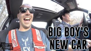 HE BOUGHT A NEW CAR!