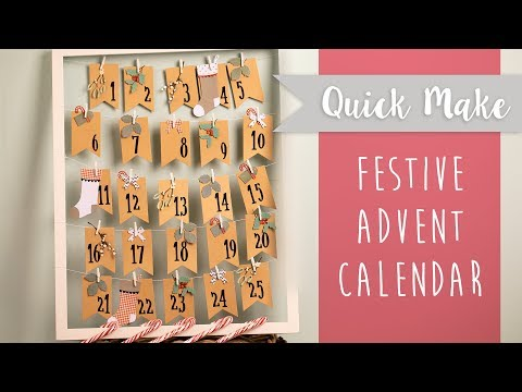DIY: Advent Calendar - Sizzix