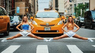 Acro/Gymnastics for 24 hours in NYC with Jordan Matter