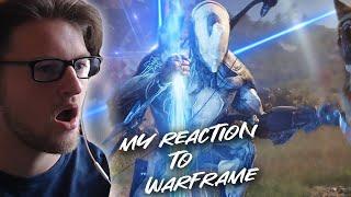 My Reaction To Warframe  Cinematic Intro - TennoCon 2019