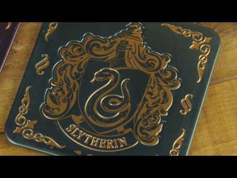 Metalowe podstawki Harry Potter