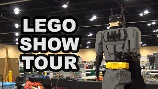 Complete Guided Tour of Brickworld Chicago 2017 LEGO Convention