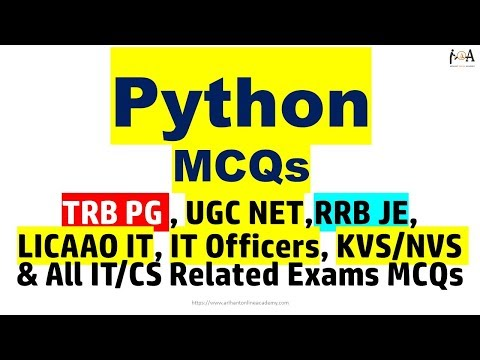 Python MCQs | Most Important Conceptual Questions for ALL CS/IT ...