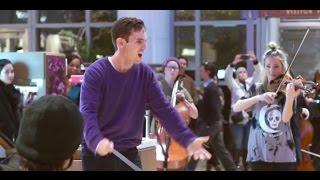 Flash Mob - Gustav Holst - The Planets: Jupiter (Berklee Contemporary Symphony Orchestra)
