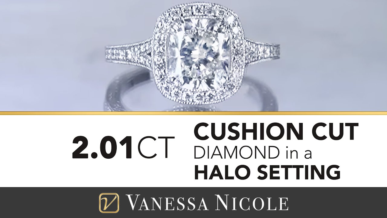 2.01ct Cushion Cut Diamond Ring