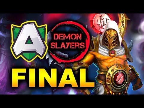 ALLIANCE vs DEMON SLAYERS - GRAND FINAL - DreamLeague 12 DOTA 2
