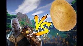 Thanos VS Patate