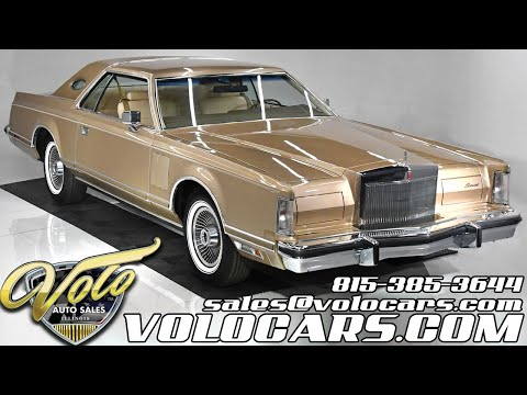 1979 Lincoln Mark V (CC-1431878) for sale in Volo, Illinois