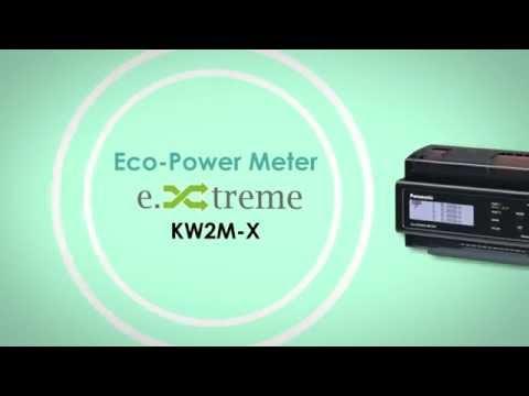 KW2M-X Contatore di energia con Web Server integrato