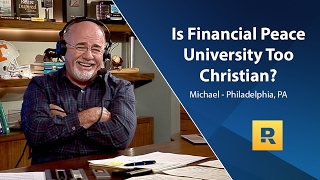 Is Financial Peace University Too Christian?