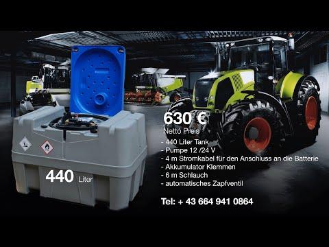 Mobile Tankanlagen und Dieseltankstelle