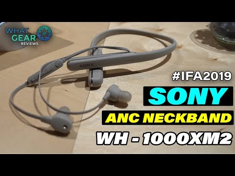 External Review Video q3hJxrykUKk for Sony WI-1000XM2 Neckband Headphones with Noise Cancellation